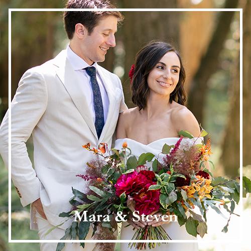 Mara and Steve - Bride and Groom